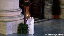 Vatikan | Coronavirus | Papst Franziskus, Gebet Urbi et Orbi