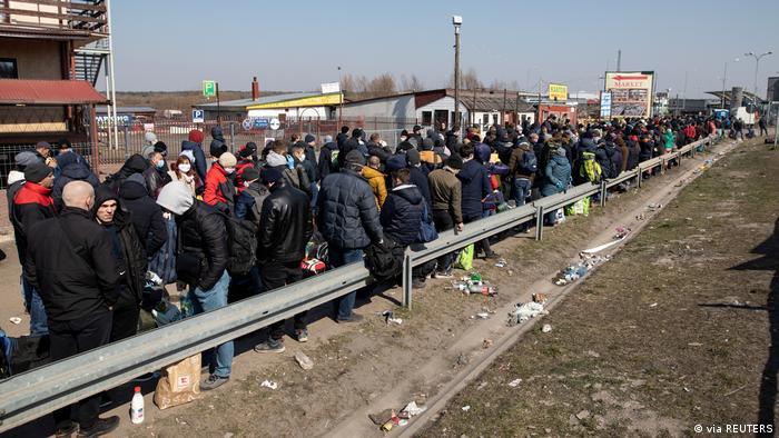 На кордоні між Україною та Польщею, березень 2020 року
