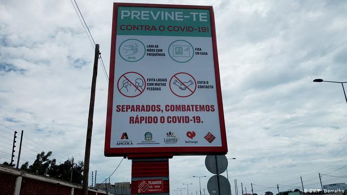 Angola | Ausnahmezustand wegen Corona