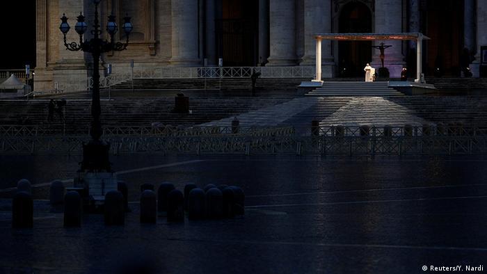 Vatikan   Coronavirus   Papst Franziskus   Petersplatz   Urbi et Orbi