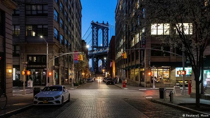 Von der Idee, ganz New York abzuriegeln