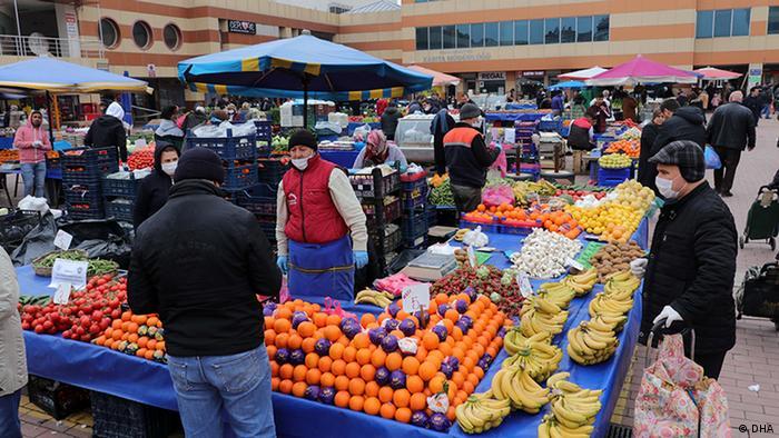 Türkei - Coronavirus: Markt
