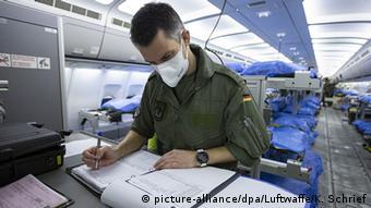На борту Airbus A310, который доставил больных итальянцев в Германию