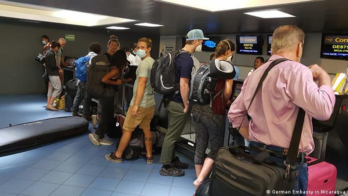 Nicaragua Coronavirus Evakuierung deutsche Touristen