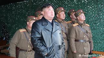 Ким Чен Ын наблюдает за стартом ракеты