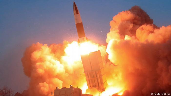 Nordkorea testet Rakete