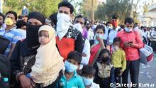 Indien | Coronavirus | Wanderarbeiter verlassen Neu-Delhi