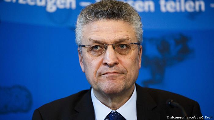 RKI-Präsident Lothar Wieler (Foto: picture-alliance/dpa/C. Koall)