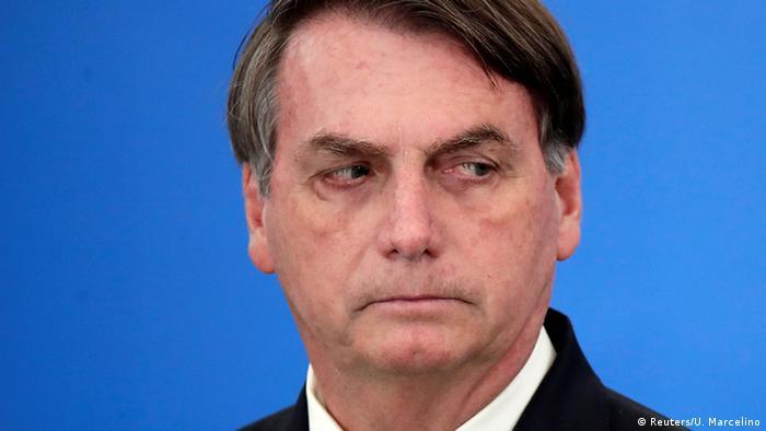 Brasiliens Staatschef Jair Bolsonaro: Das Virus ist eine Realität (Foto: Reuters/U. Marcelino)