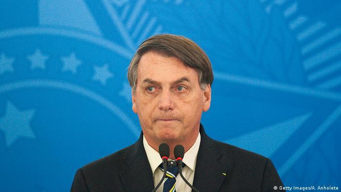 Brasilien Brasilia - Jair Bolsonaro (Getty Images/A. Anholete)