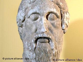 Ρωμαϊκή προτομή του Ομήρου