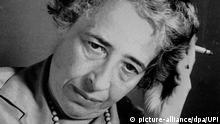 Hannah Arendt US-amerikanische Politikwissenschaftlerin und Soziologin