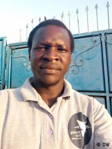 Waakhe Simon Wudu DW Korrespondent im Sudan