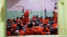 Syrien Gefängnis für IS-Mitglieder in Hassaka ARCHIV