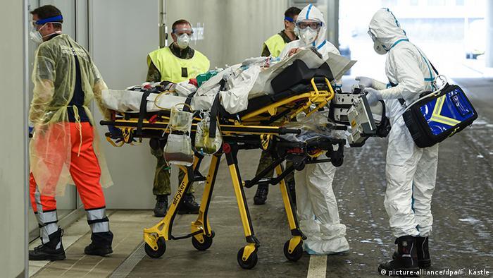 Клиника в немецком Ульме принимает нового пациента с COVID-19 из Франции