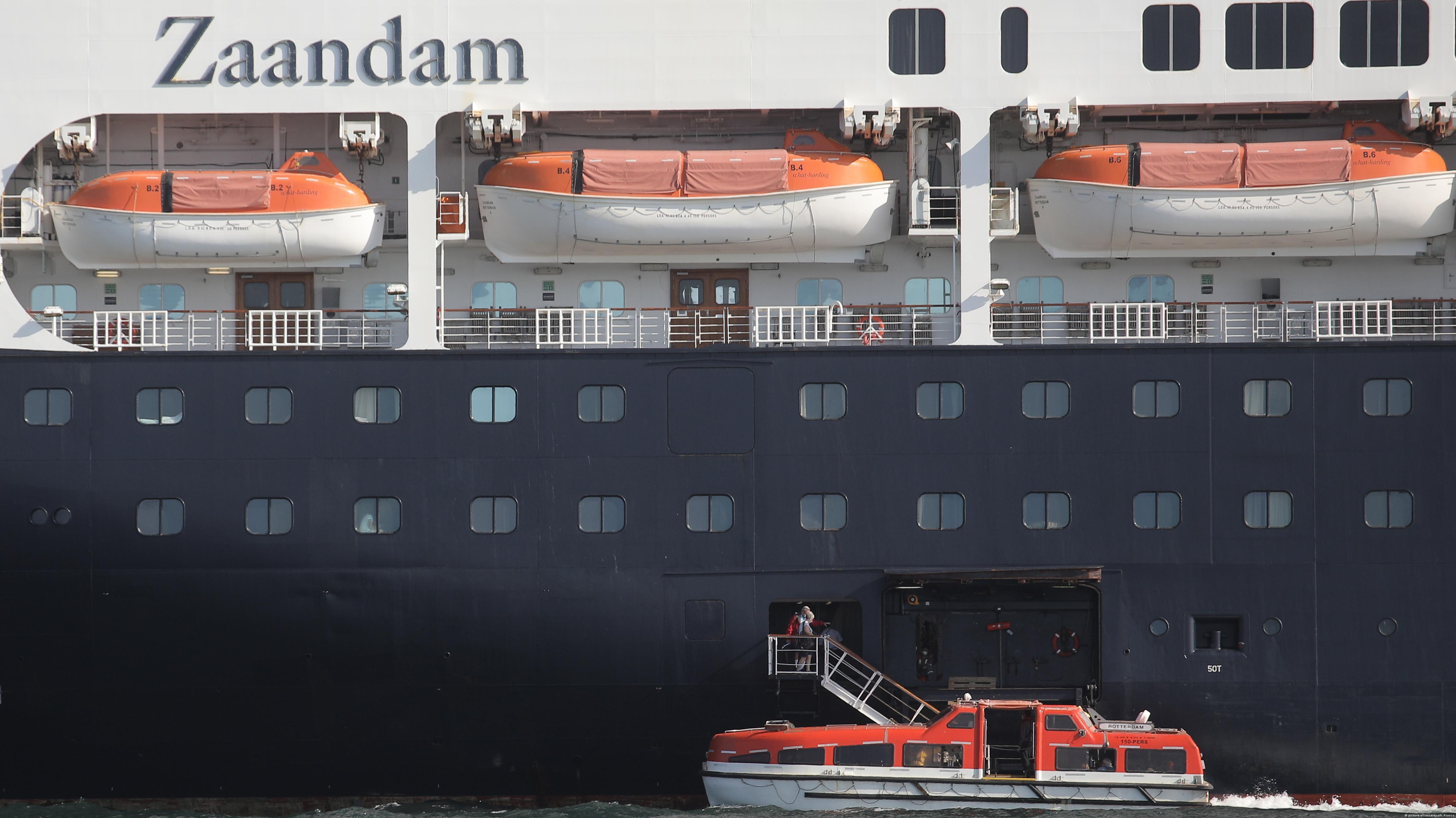 Coronafälle auf Kreuzfahrtschiff Zaandam (picture-alliance/dpa/A. Franco)