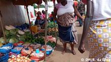 Mosambik Maputo Markt Coronavirus