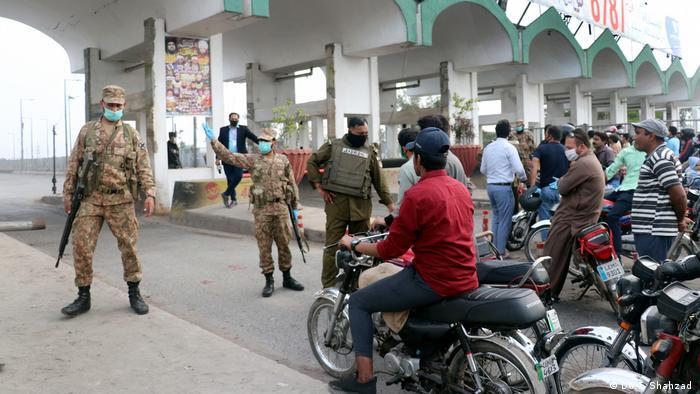 Pakistan | Coronavirus | Lockdown Lahore (DW/T. Shahzad )