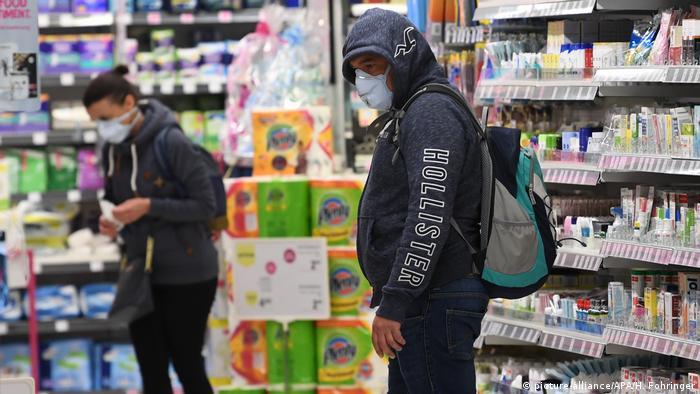 Mundschutz wird in Österreich beim Einkaufen Pflicht | Aktuell ...