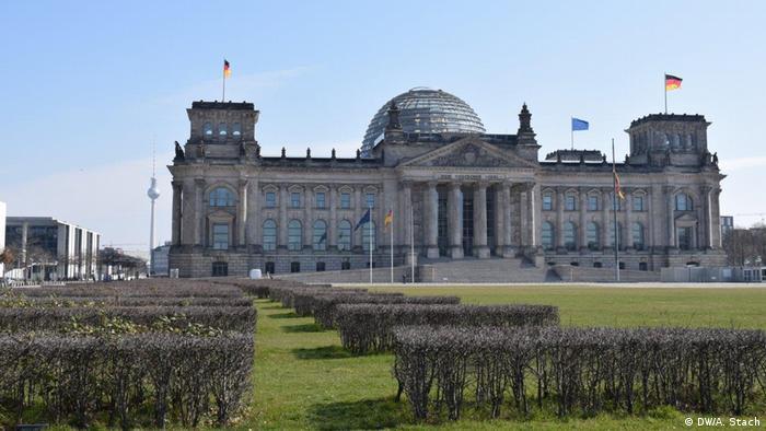 Edificio del Reichstag en Berlín.