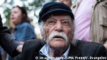 The Greek hero of National Resistance, Manolis Glezos