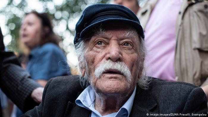 The Greek hero of National Resistance, Manolis Glezos