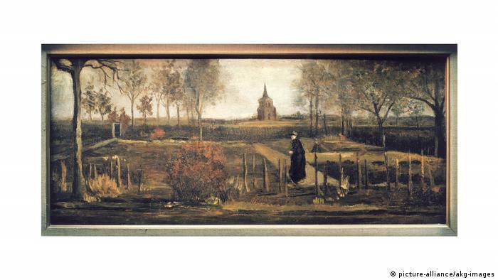 Gemälde Pfarrgarten von Vincent van Gogh (picture-alliance/akg-images)