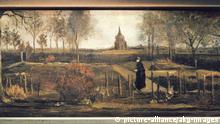 Van Gogh's Parsonage Garden at Neunen in Spring from 1884