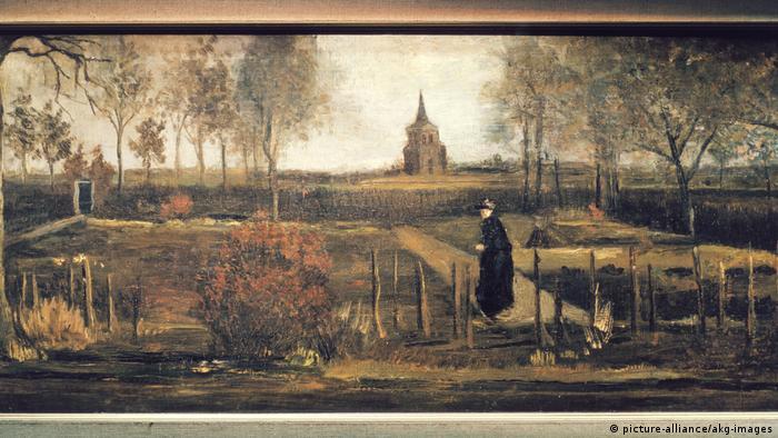 Викрадена картина Вінсента ван Гога Весняний сад