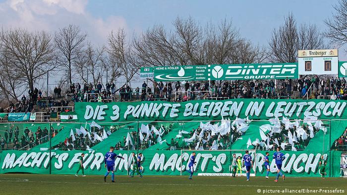 Deutschland Fußball Regionalliga |BSG Chemie Leipzig vs. VSG Altglienicke (picture-alliance/Eibner-Pressefoto)