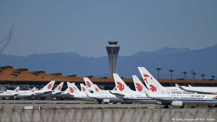 Coronavirus | Flugzeuge | Flughafen Peking