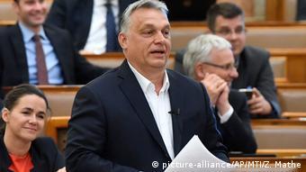 Ungarn Premierminister Viktor Orban (picture-alliance/AP/MTI/Z. Mathe)