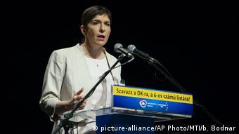 Ungarn Klara Dobrev (picture-alliance/AP Photo/MTI/b. Bodnar)