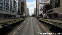 Brasilien Coronavirus Sao Paulo