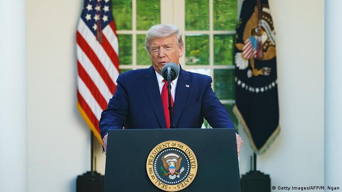 USA Donald Trump PK Coronavirus (Getty Images/AFP/M. Ngan)