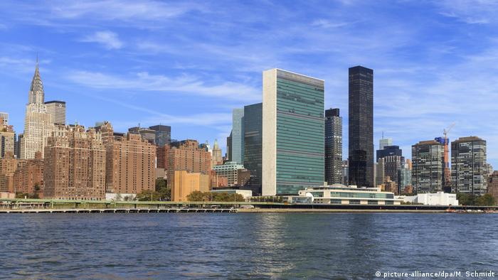 United Nations UN Hauptquartier New York USA Gebäude (picture-alliance/dpa/M. Schmidt)