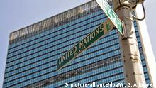 United Nations UN Hauptquartier New York USA Gebäude