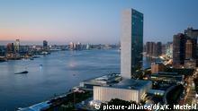 United Nations UN Hauptquartier New York USA Gebäude