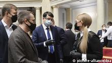 Coronavirus - Ukraine Parlament