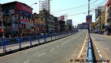 Kalkutta Indien Lockdown West Bengal Coronavirus