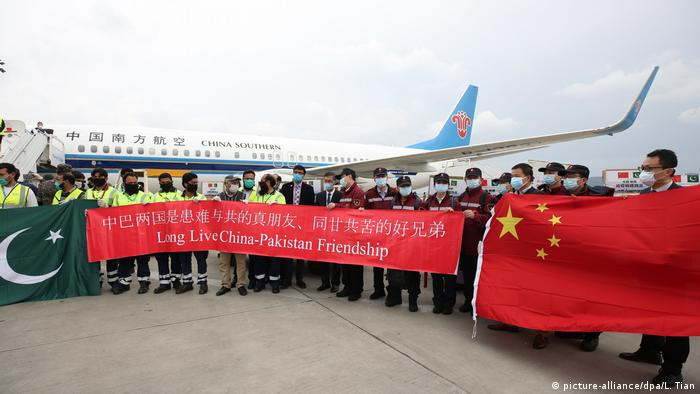 China Hilfe Pakistan (picture-alliance/dpa/L. Tian)
