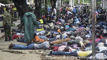 Kenia Coronavirus Maßnahmen Polizei