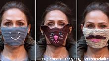 Bildergalerie Schutzmasken in Deutschland