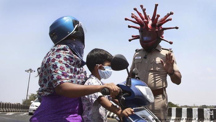 BG Corona Schutzmasken weltweit