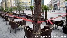 Coronavirus Gelsenkirchen Café geschlossen