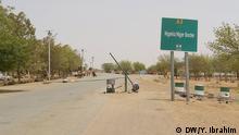 Nigeria Grenze zum Niger