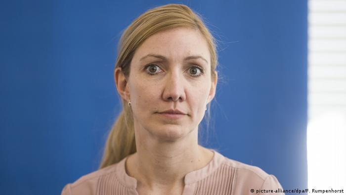 Virologin Sandra Ciesek (picture-alliance/dpa/F. Rumpenhorst)