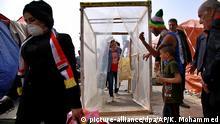 Irak Coronavirus (picture-alliance/dpa/AP/K. Mohammed)
