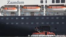 Coronavirus - Vier Tote auf Kreuzfahrtschiff vor Panama