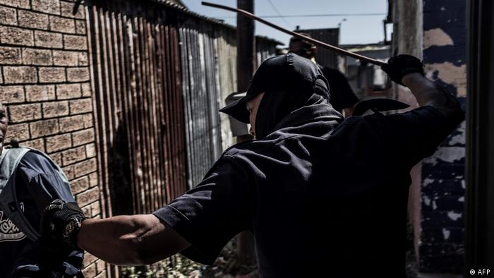 Südafrika Lockdown Ausgangssperre (AFP)